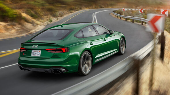 Audi RS5 Sportback 2018 SPERRFRIST 28.3.2018 / 6.00 Uhr