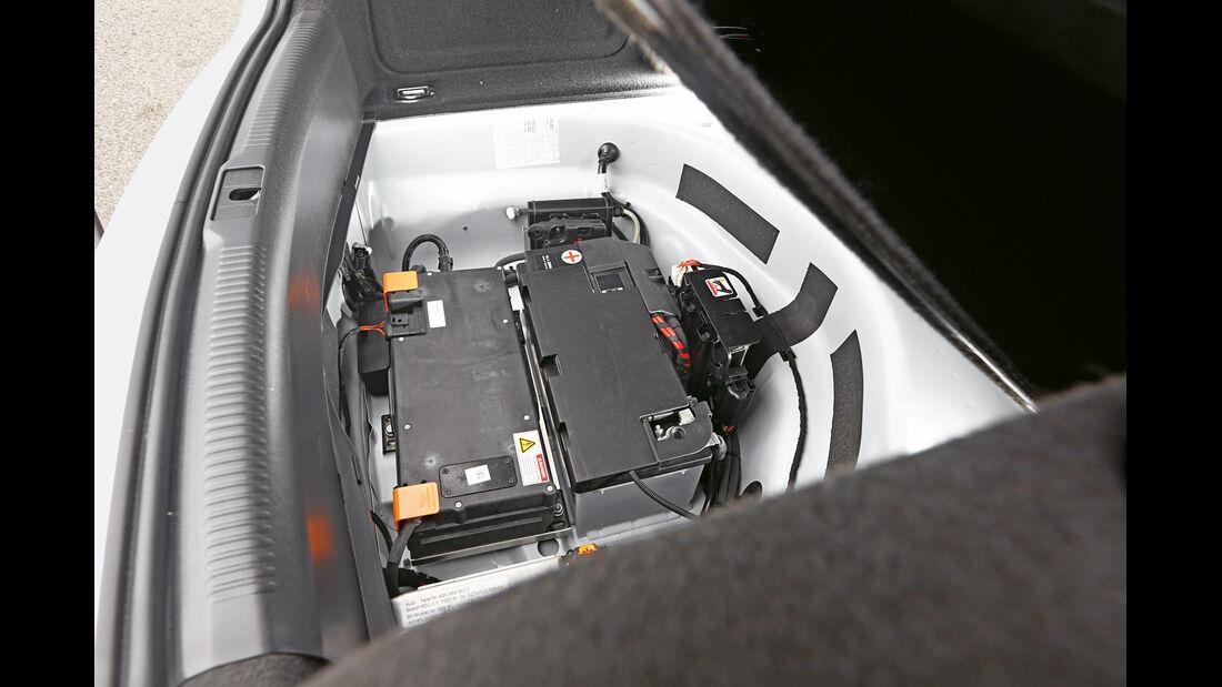 Audi RS5 TDI Concept, Batterie