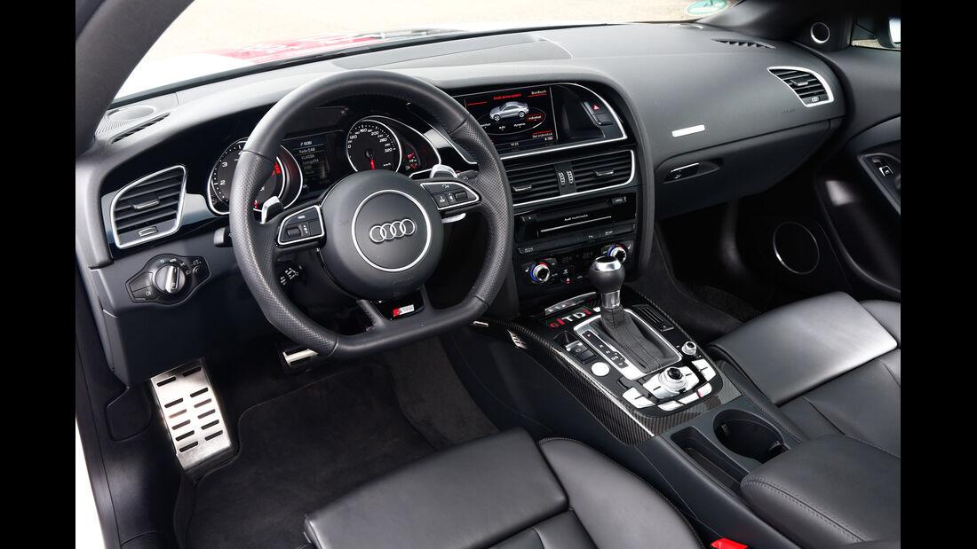 Audi RS5 TDI Concept, Cockpit