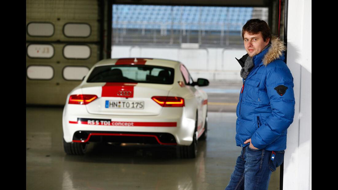 Audi RS5 TDI Concept, Heckansicht