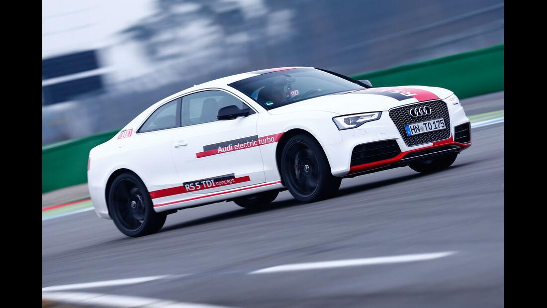 Audi RS5 TDI Concept, Seitenansicht