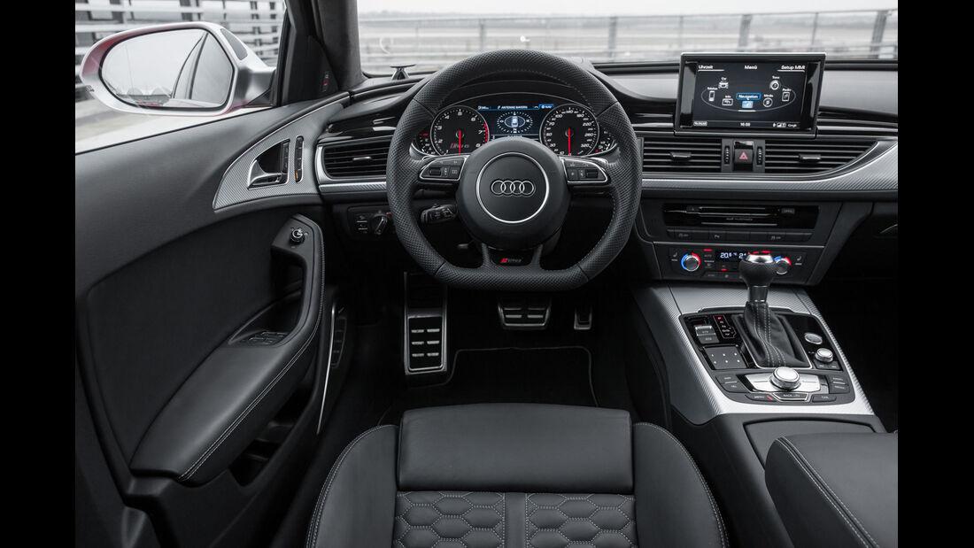 Audi RS6 Avant, Cockpit, Lenkrad