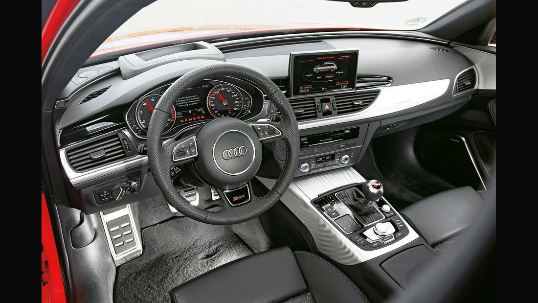 Audi RS6 Avant, Cockpit