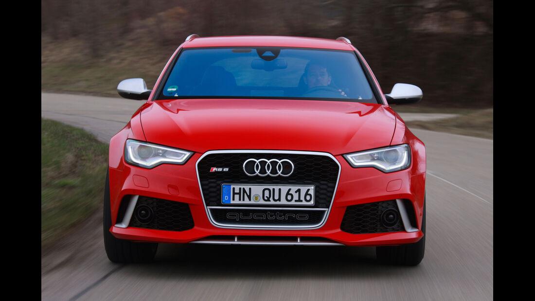 Audi RS6 Avant, Frontansicht, Kühlergrill