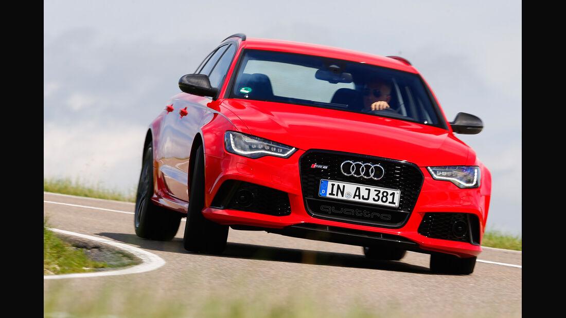 Audi RS6 Avant, Frontansicht