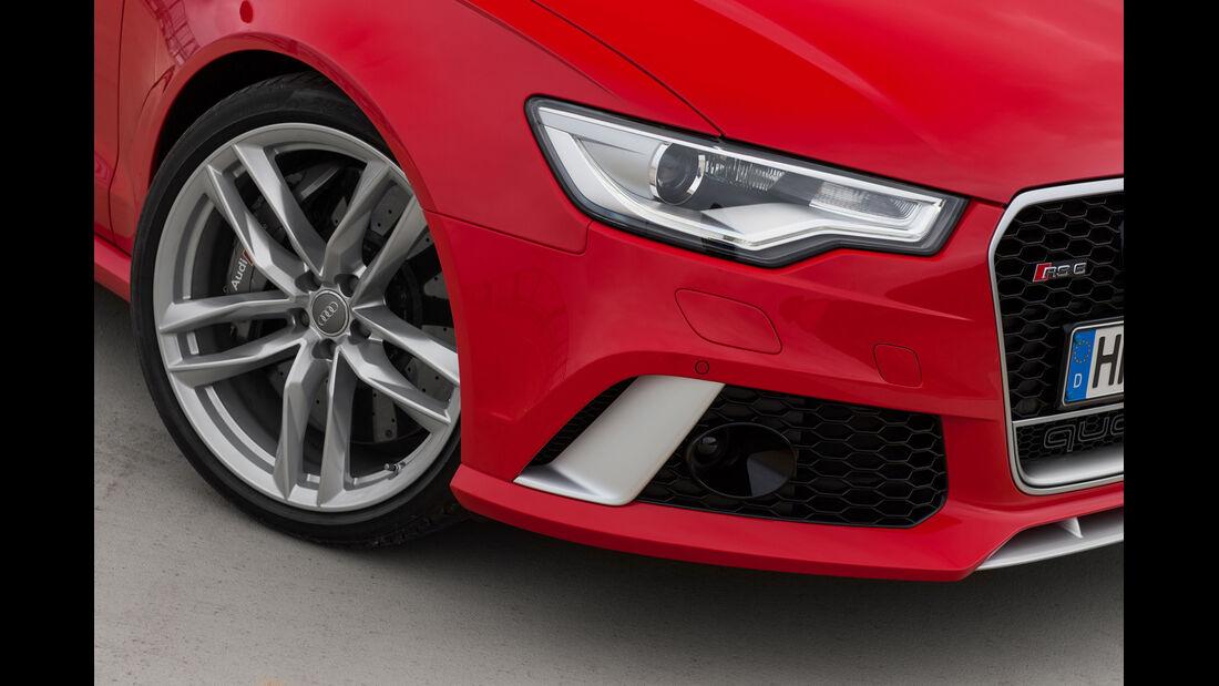 Audi RS6 Avant, Frontscheinwerfer