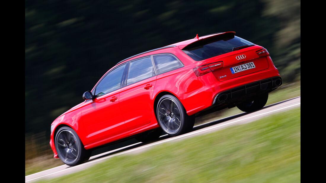 Audi RS6 Avant, Heckansicht