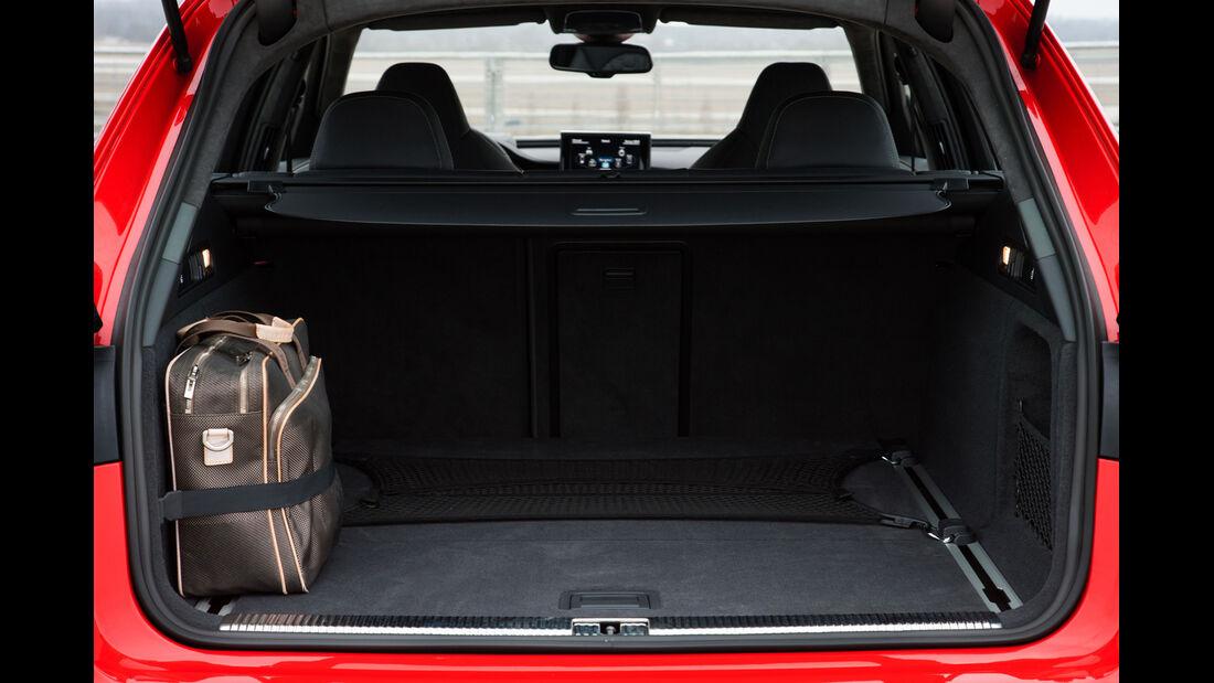 Audi RS6 Avant, Kofferraum