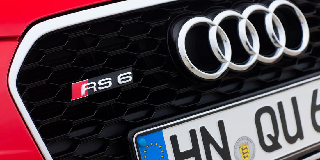 Audi RS6 Avant, Kühlergrill, Typenbezeichnung