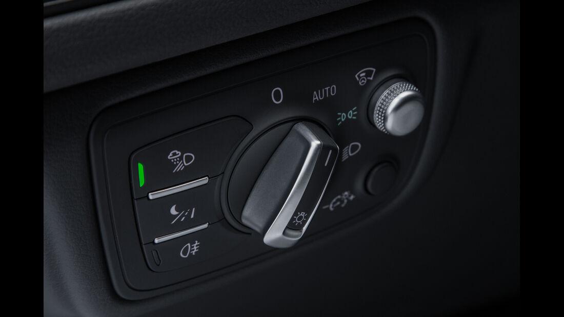 Audi RS6 Avant, Lichteinstellung, Bedienelement