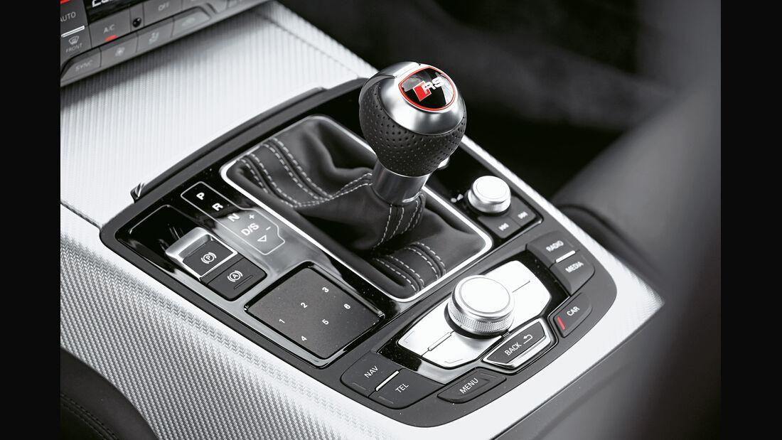 Audi RS6 Avant, Schalthebel