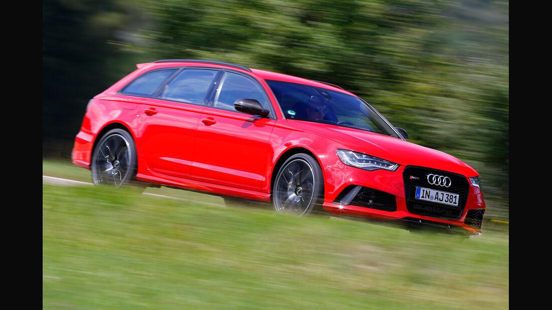 Audi RS6 Avant, Seitenansicht