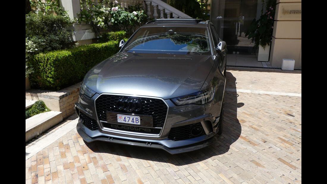 Audi RS6 - Carspotting - GP Monaco 2018