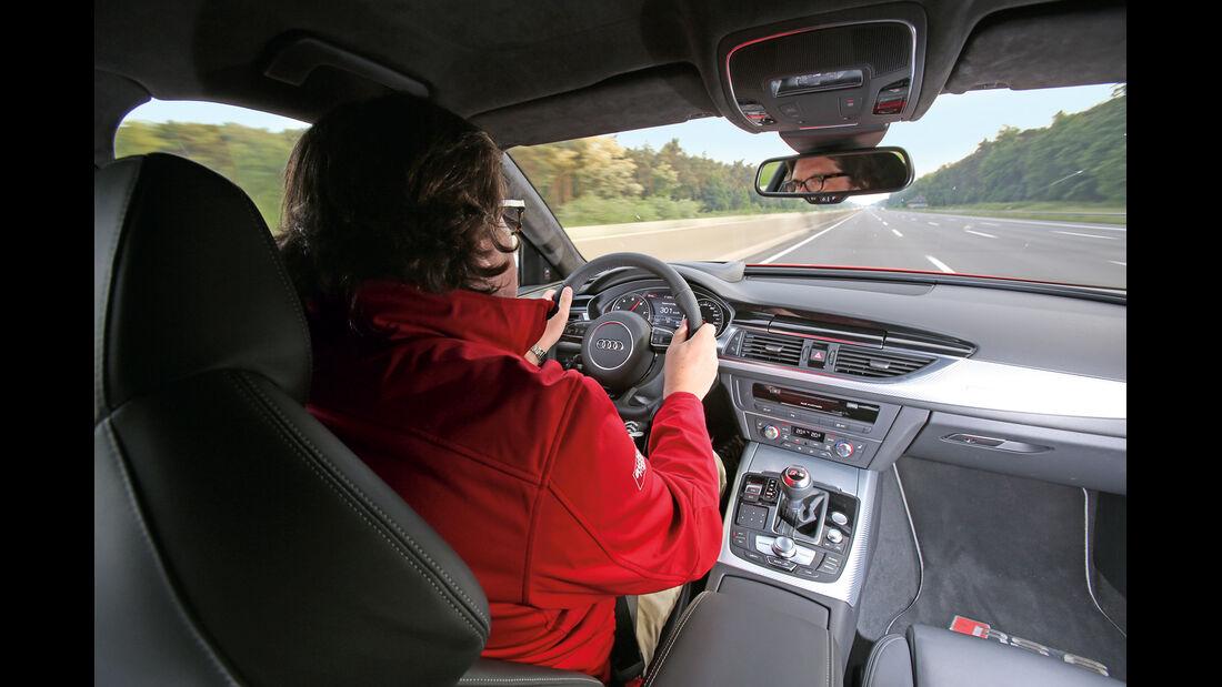 Audi RS6, Cockpit, Fahrer