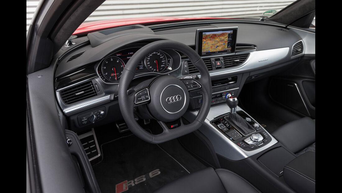 Audi RS6, Cockpit, Lenkrad