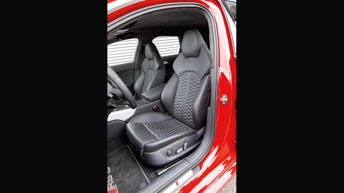 Audi RS6, Fahrersitz