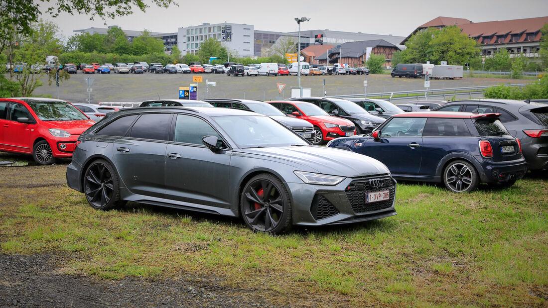Audi RS6 - Fanautos - 24h Rennen Nürburgring - Nürburgring-Nordschleife - 4. Juni 2021