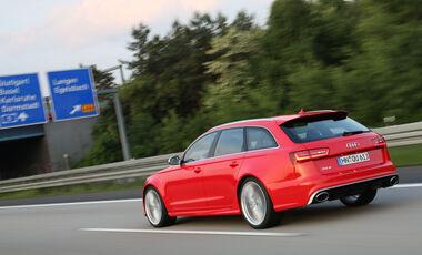Audi RS6, Heckansicht