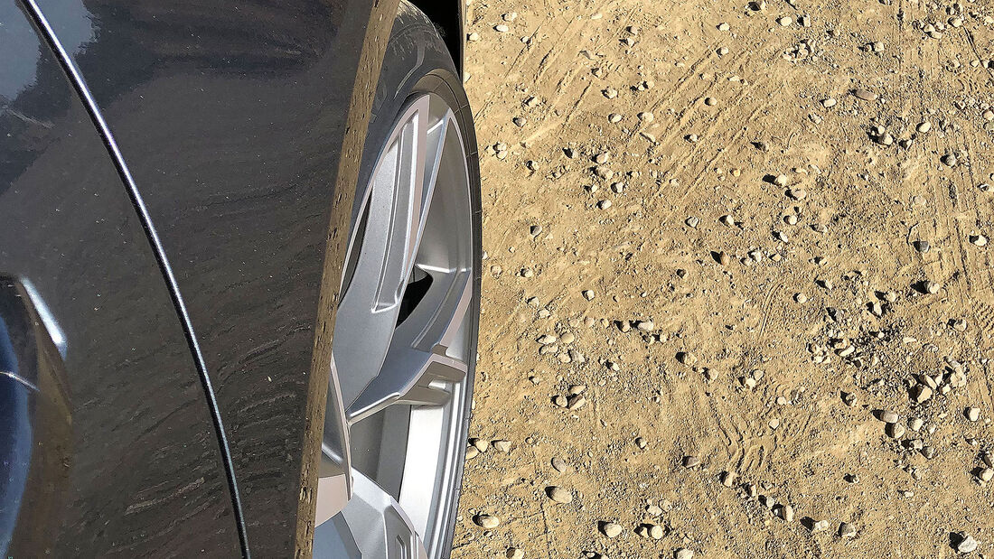 Audi RS6 Hinterradlenkung