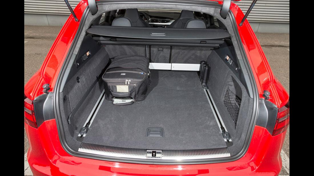 Audi RS6, Kofferraum, Ladefläche