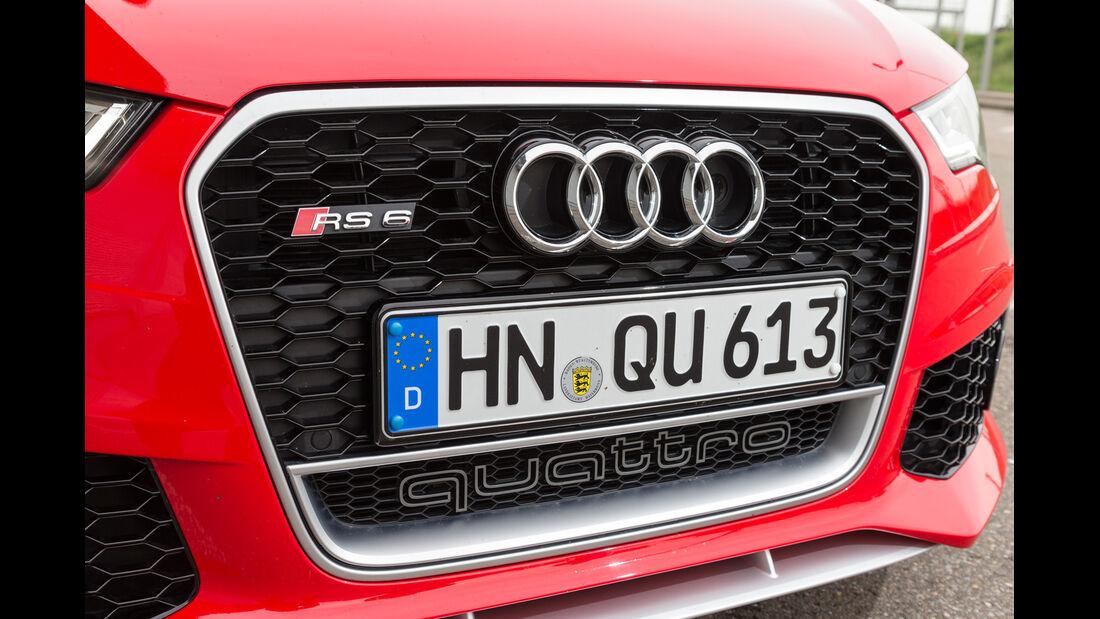 Audi RS6, Kühlergrill