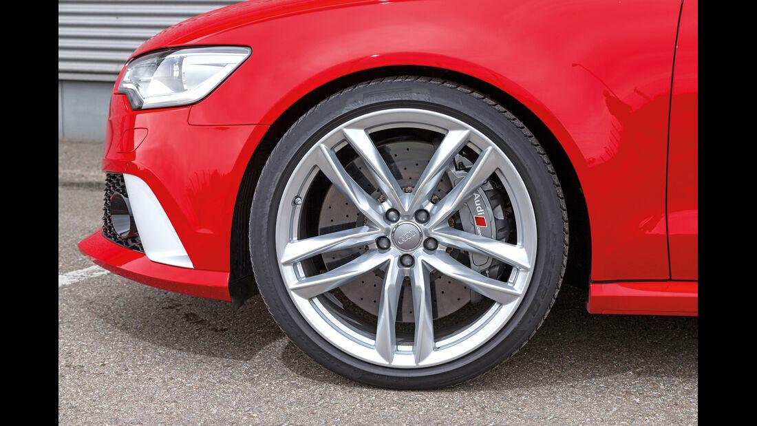 Audi RS6, Rad, Felge, Bremse