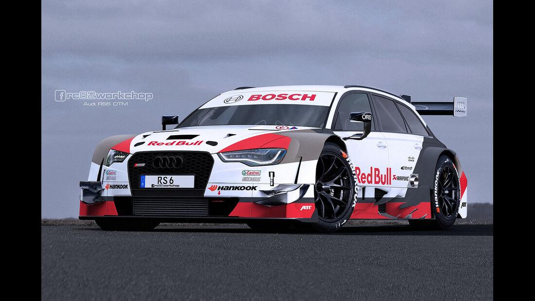 Audi RS6 - Rennversion - Photoshop