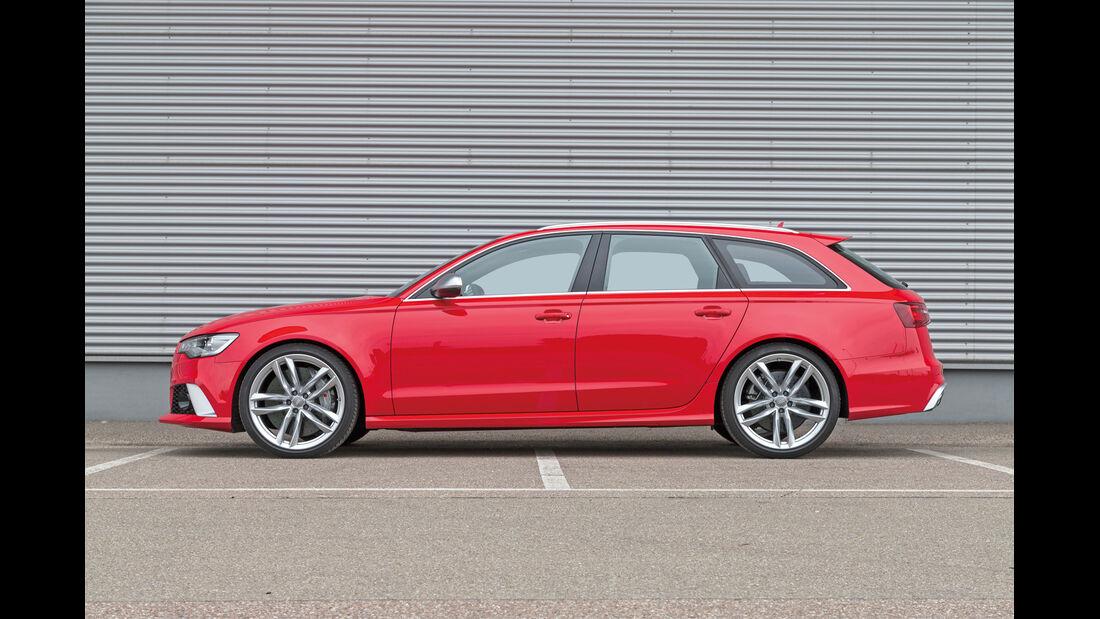 Audi RS6, Seitenansicht