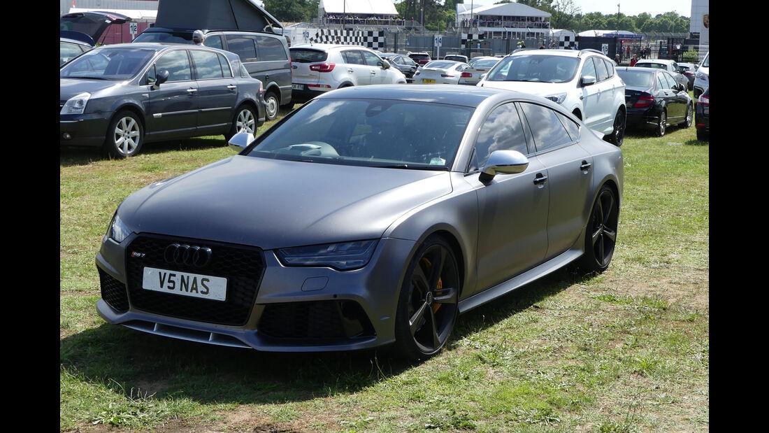 Audi RS7 - Carspotting - 24h Le Mans 2018