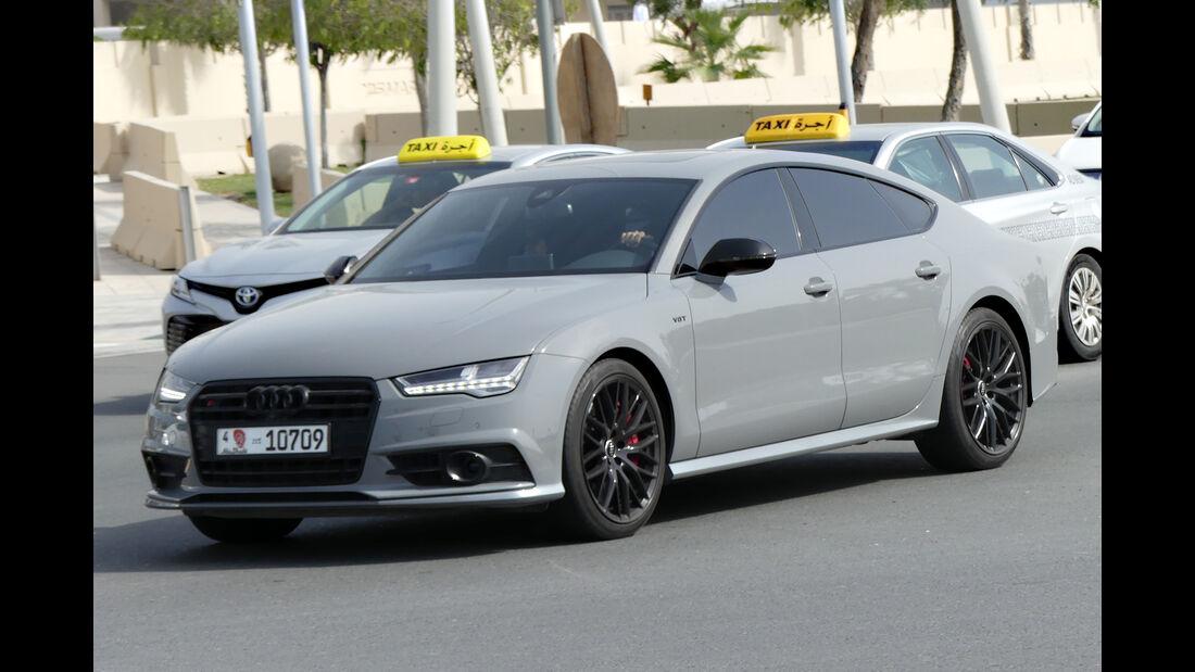 Audi RS7 - Carspotting - GP Abu Dhabi 2018