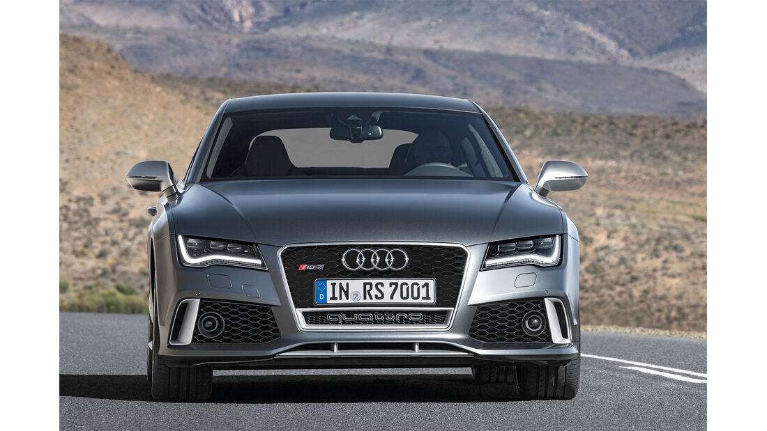 Audi RS7, Frontansicht