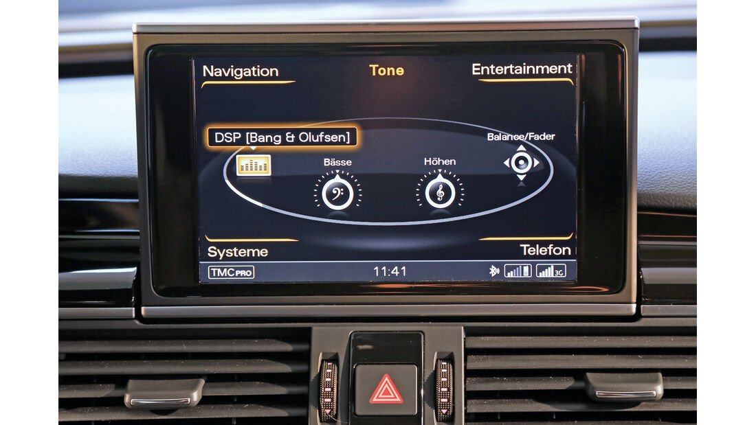 Audi RS7, Navi, Monitor