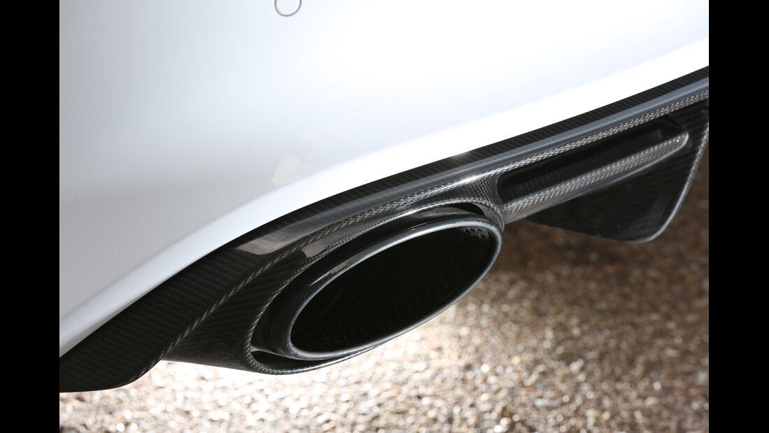 Audi RS7 Sportback, Auspuff, Endrohr