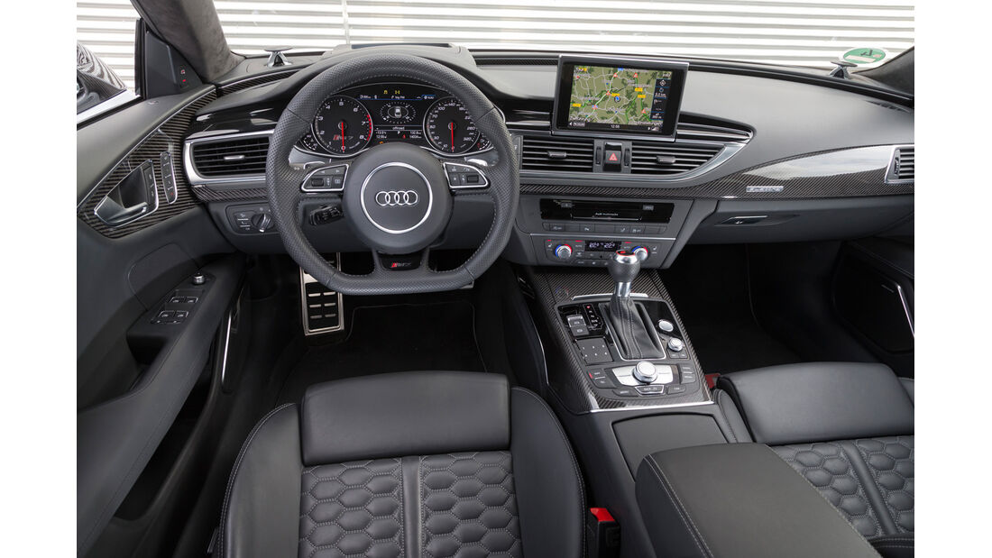 Audi RS7 Sportback, Cockpit