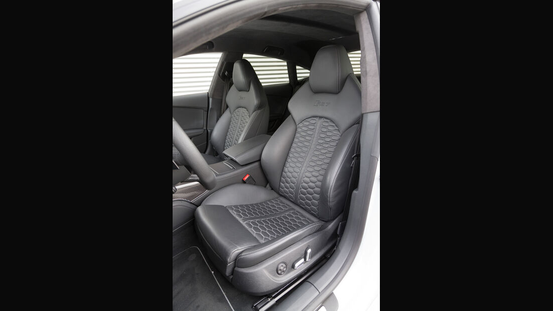 Audi RS7 Sportback, Fahrersitz