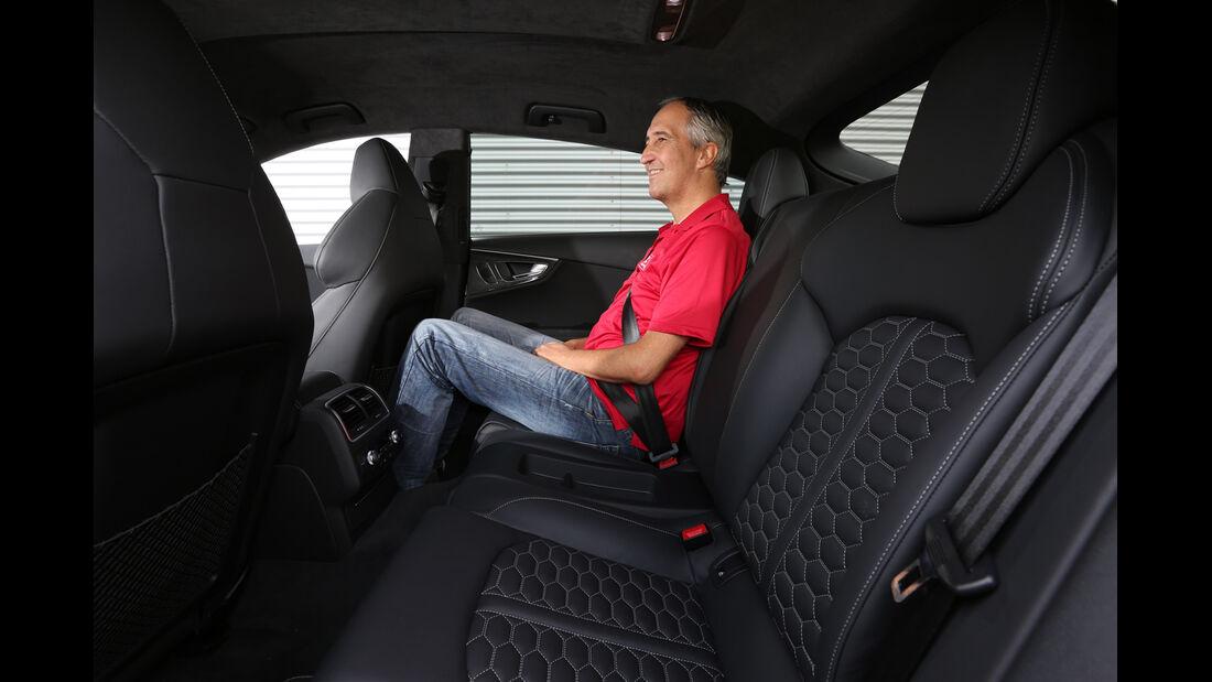 Audi RS7 Sportback, Fondsitz