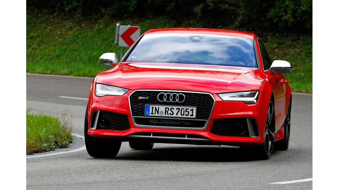 Audi RS7 Sportback, Frontansicht