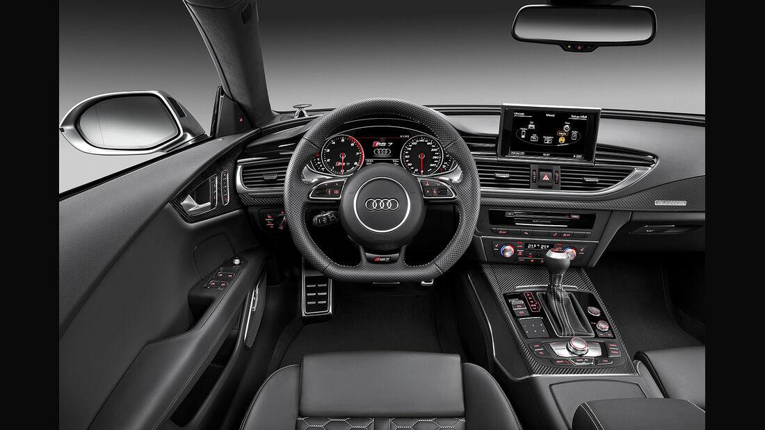 Audi RS7 Sportback, Innenraum, Cockpit