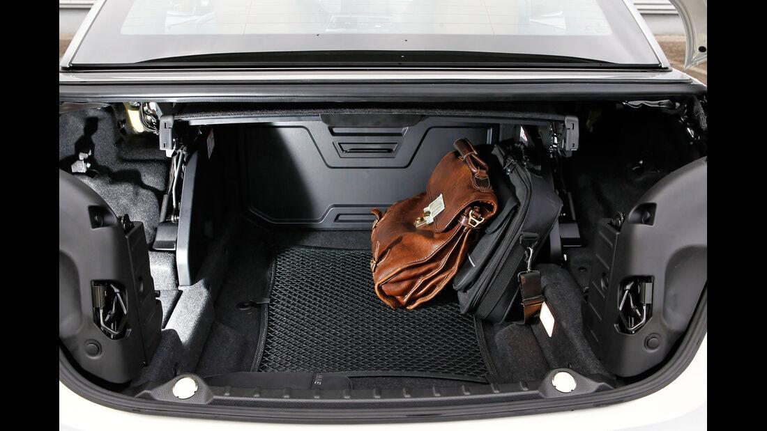 Audi RS7 Sportback, Kofferraum