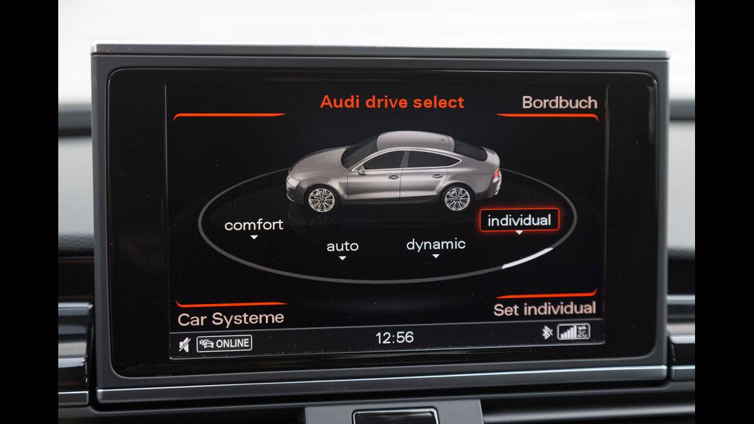 Audi RS7 Sportback, Monitor, Bordcomputer