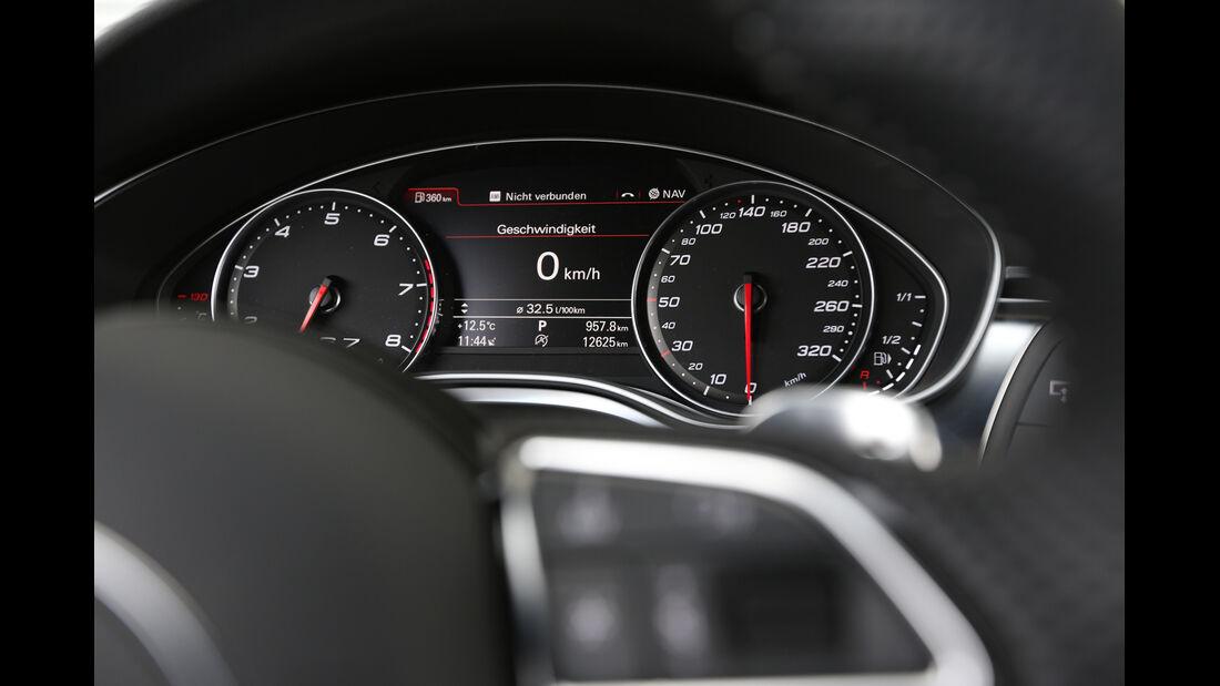 Audi RS7 Sportback, Rundinstrumente
