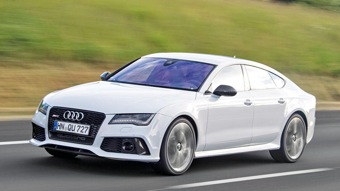 Audi RS7 Sportback, Seitenansicht