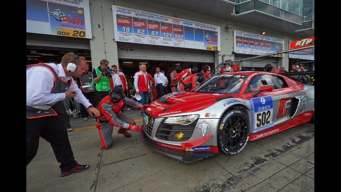 Audi Race Experience - Audi R8 LMS ultra - Impressionen -  24h-Rennen Nürburgring 2014 - 21.06.2014