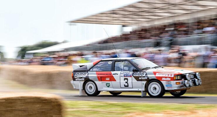 Audi Rallye-Quattro, Historie