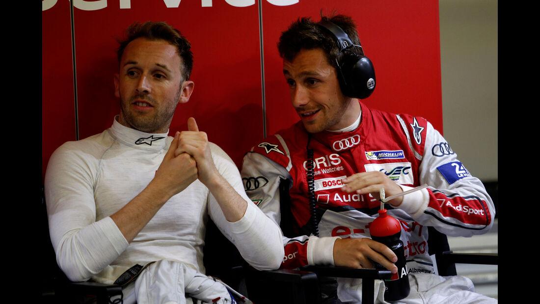 Audi - Rene Rast - Felipe Albuquerque - 24h Rennen Le Mans - 1. Qualifying - Mittwoch - 10.6.2015