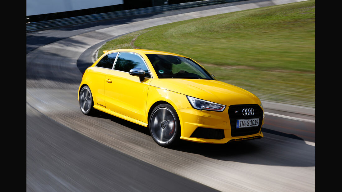 Audi S1, Frontansicht