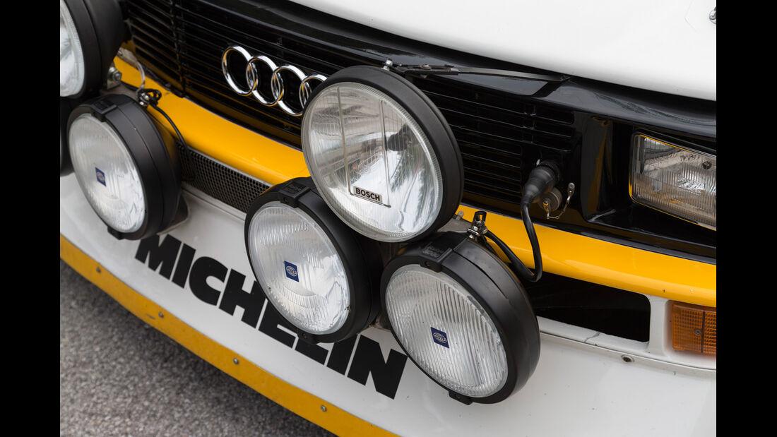 Audi S1, Frontscheinwerfer