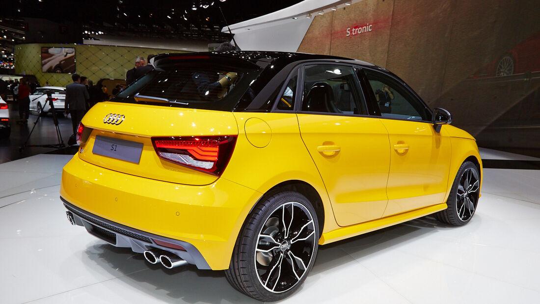 Audi S1, Genfer Autosalon, Messe, 2014