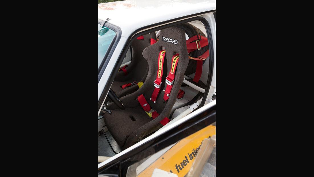 Audi S1, Gurt, Sportsitz