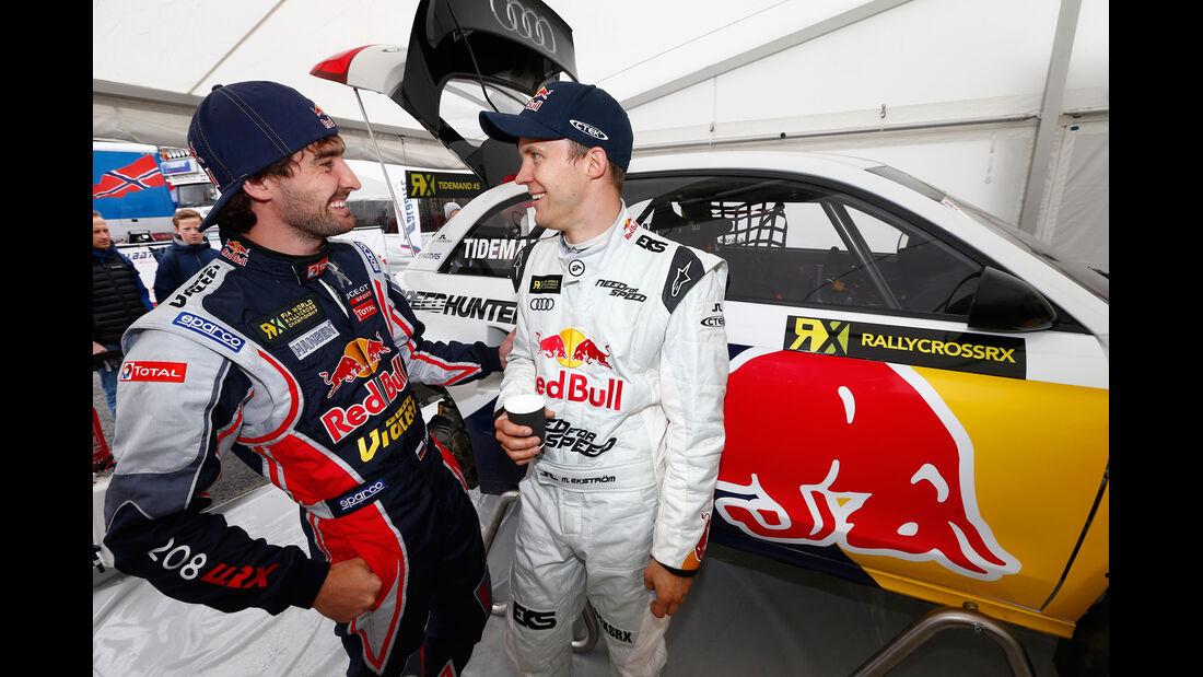 Audi S1 - Mattias Ekström - RallyCross 2014